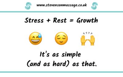Stress + Rest = Growth